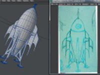 The Rocketship Project: Modeling and Rigging